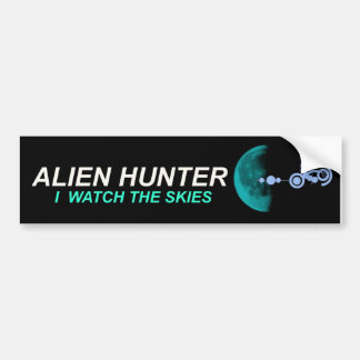 Alien Hunter Bumper Sticker