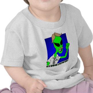 alien hybrid power t shirt