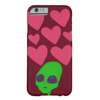 Alien in Love iPhone/iPad/Samsung etc. feat. Barely There iPhone 6 Case