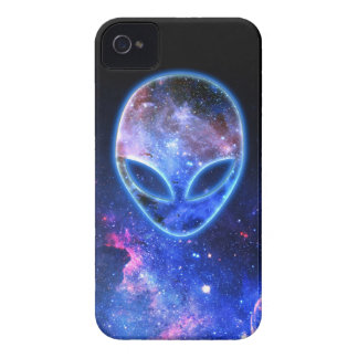 Alien in Space iPhone 4 Cover
