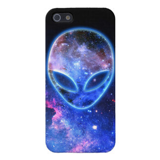 Alien in Space iPhone 5/5S Cover