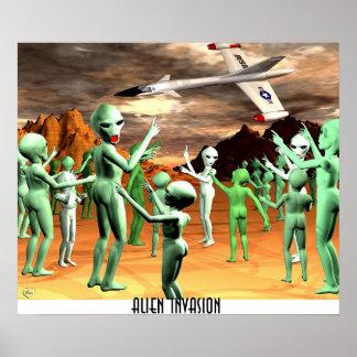 Alien Invasion1 Poster
