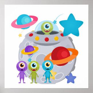 Alien Invasion Poster