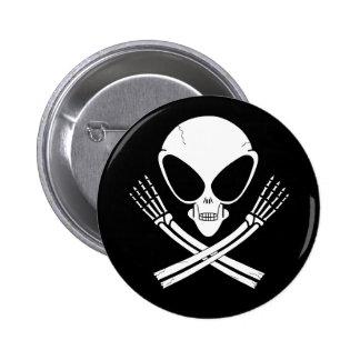 alien jolly rodger pin