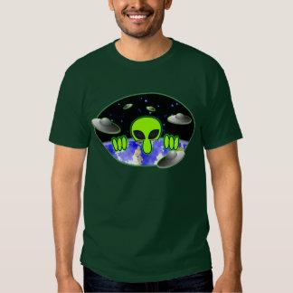 Alien Kilroy Green T-shirt