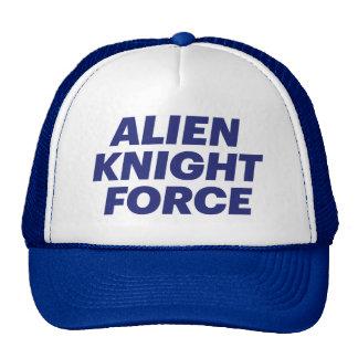 ALIEN KNIGHT FORCE fun slogan trucker hat