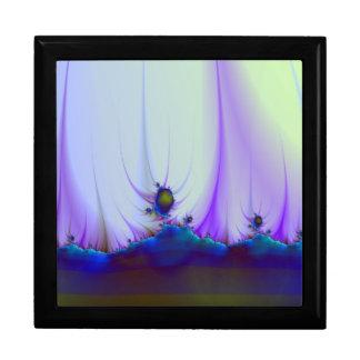 Alien Landscape in Blue Gift Box