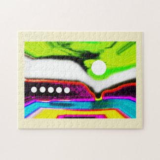 Alien landscape jigsaw puzzle