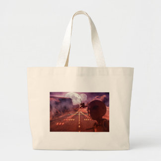 Alien Large Tote Bag