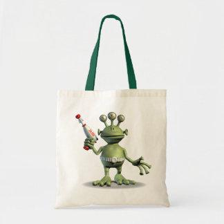 Alien Laser Gun Tote Bag