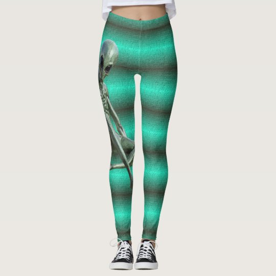 Alien Leggings Realistic Martian