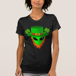 Alien Leprechaun T Shirt