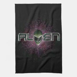 Alien logo American MoJo Kitchen Towels