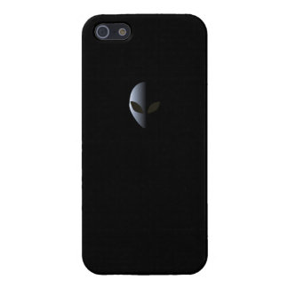 Alien Logo Black Iphone 5 case UFO