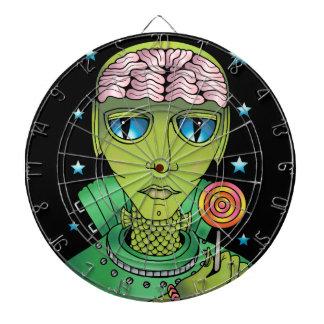 Alien Lollipop Dartboard