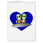 Alien Love Greeting Cards