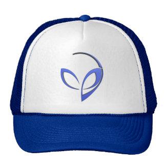 Alien Mascot in Blue Cap