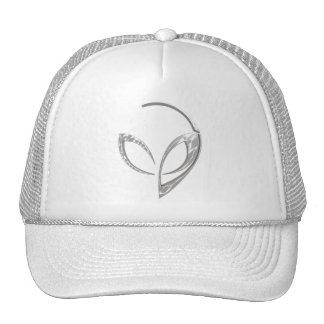 """Alien Mascot in """"Brushed Steel"""" Cap"""