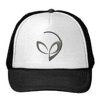 "Alien Mascot in ""Carbon Fiber"" Cap"