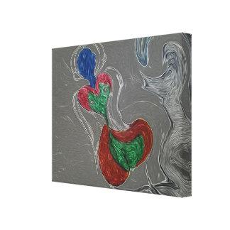 Alien Mermaid Canvas Print