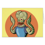 Alien Monster Card