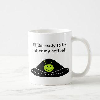 Alien Basic White Mug