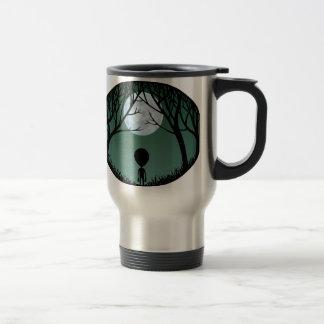 Alien Mug Grey Extraterrestrial Cups & Alien Glass