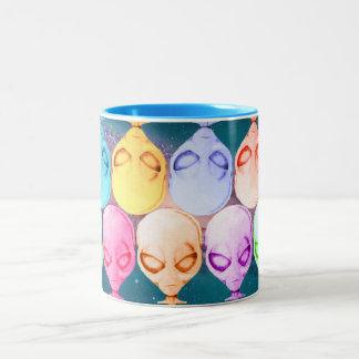 Alien Mug, multicolored Two-Tone Mug