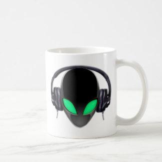 Alien Music Lover DJ - Smooth Cetacean Coffee Mug