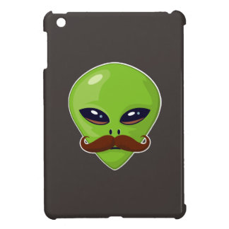 Alien Mustache Cover For The iPad Mini