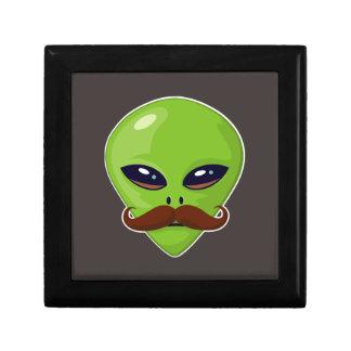 Alien Mustache Gift Box