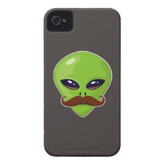Alien Mustache iPhone 4 Case