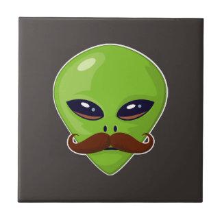 Alien Mustache Tile