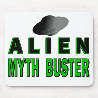 Alien Myth Buster Mouse Pad