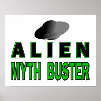 Alien Myth Buster Poster