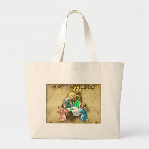 Alien Nativity Jumbo Tote Bag