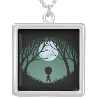 Alien Necklace Grey Alien Gifts ET Alien Keepsake