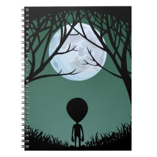Alien Notebook Cute ET Journals Alien Books