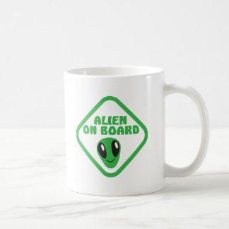 ALIEN on board! Basic White Mug