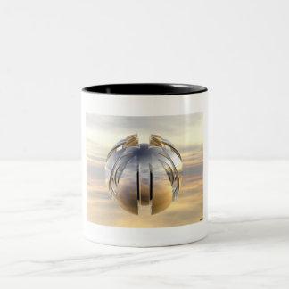 Alien Orb Two-Tone Coffee Mug