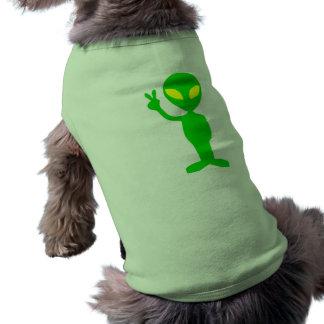 Alien Peace Sign Shirt