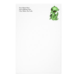 Alien Pet Personalised Stationery