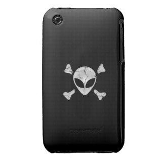 Alien Pirate iPhone 3 Cases