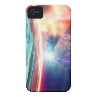 Alien planet, computer artwork. Case-Mate iPhone 4 case