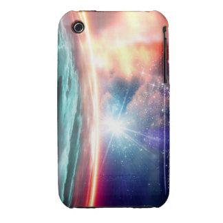 Alien planet, computer artwork. iPhone 3 cases