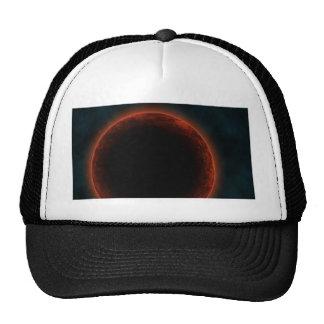 Alien planet trucker hat