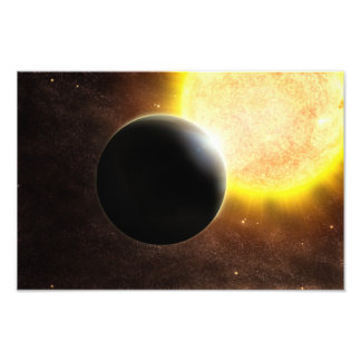 Alien Planet Star Space Art Photo Art