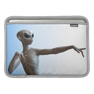 Alien Pointing MacBook Air Sleeve