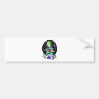 Alien prober bumper sticker