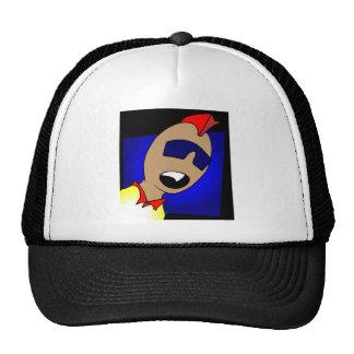 ALIEN PUNK TRUCKER HAT